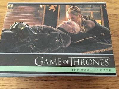 Game Of Thrones Season 5 Base Set 100 Cards,Empty Packets,