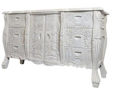 Mahagoni Kommode Sideboard Schubladen Schrank Massiv Wohnzimmer Schlafzimmer