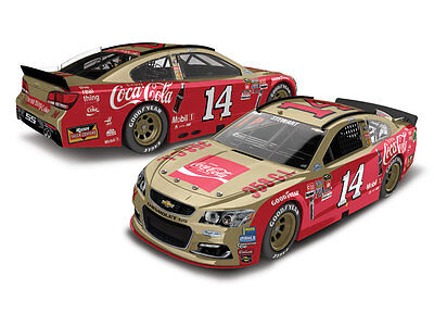TONY STEWART #14 COKE DARLINGTON 2016 1/64 ACTION DIECAST CAR