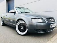 2005 AUDI S4 CONVERTIBLE CABRIOLET 4.2 V8 MANUAL QUATTRO - BBS WHEELS - TOP SPEC RS4