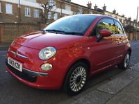 FIAT 500 LOUNGE (red) 2013