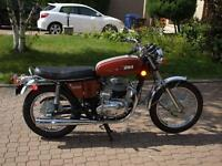 1972 BSA A65 Thunderbolt Antique