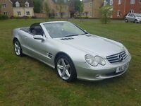 Mercedes SL500 2005, Sat Nav, DVD, Finance, P/X, Credit Cards Welcome