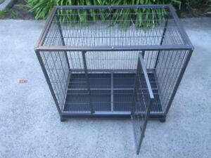 XL Pet Dog Cat Cage Collapsible Metal Crate Kennel Rabbit House