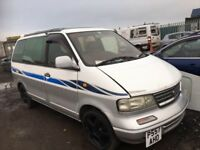 Nissan largo diesel mini bus breaking parts available door wing bonnet bumper radiator seats