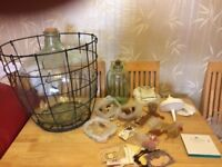 Large glass demijohn + 6 Small + Lots More- wine making - Bundle - price from £5