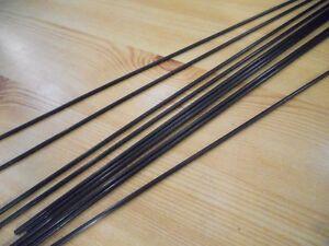 CARBON FIBRE PUSH RODS - 4 x PIECES  - 2mm x 100mm