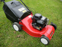 "(023) Sovereign 17"" Cut Petrol Lawnmower Lawn Mower Self Propelled"