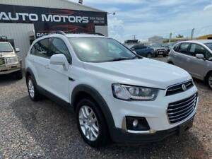 2017 Holden Captiva ACTIVE 7 SEATER Automatic SUV