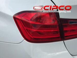 2012 2013 2014 2015 BMW 335i Tail Light, Tail Lamp Left = Driver Side Outer / Used | Clean & Undamaged