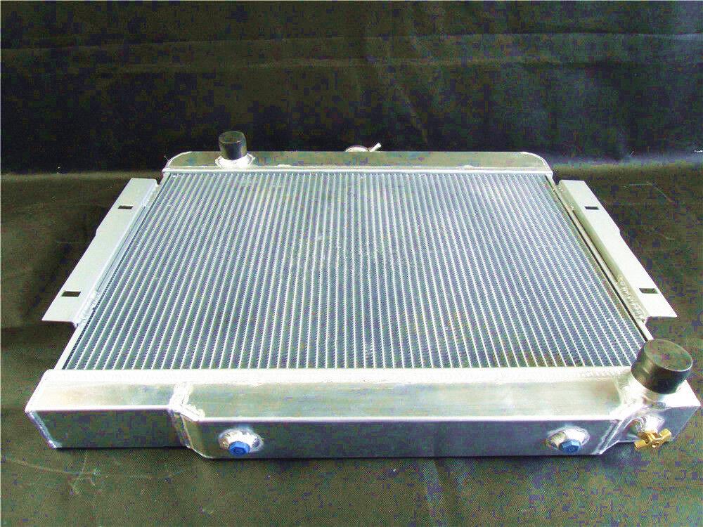 Aluminum Radiator Conversion for JEEP CJ CJ5 CJ7 V8 Chevy Engine 1972-1986
