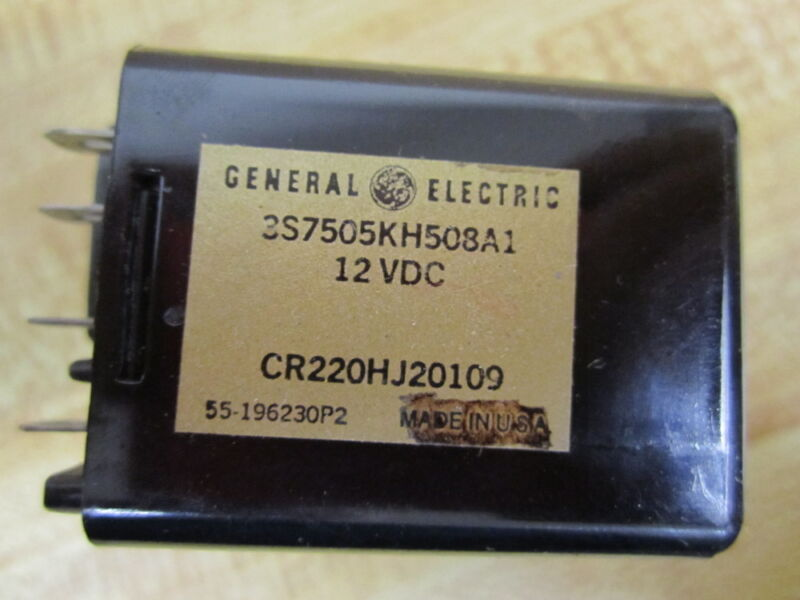 General Electric 3S7505KH508A1 GE Photoelectric Control