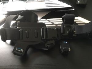 Original GoPro chest mount + head strap Marsfield Ryde Area Preview