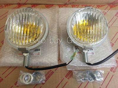 Toyota Land Cruiser Fog Lamp LH + RH set NEW Genuine Parts FJ40 FJ43 FJ4# BJ4#