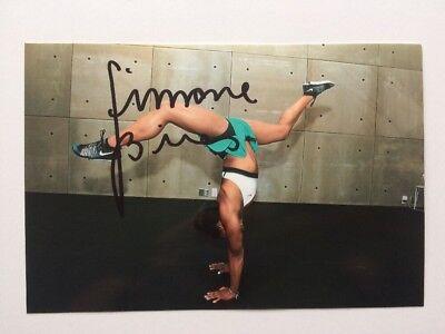 Simon Biles Autograph Photo 2016 Olympics Rio De Janeiro Auto Signed Gold Medal