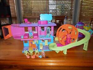 Polly Pocket Hotel with Roller coaster includes doll Greenbank Logan Area Preview