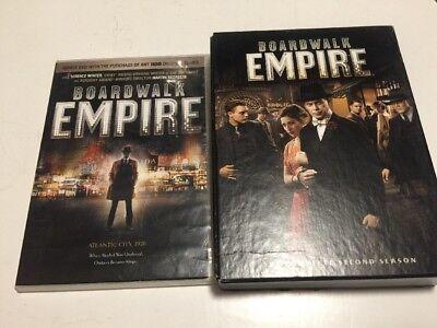BOARDWALK EMPIRE Season 2 DVD Complete 5-Disc Set 2012 Plus Pilot Episode (Empire Pilot Episode)