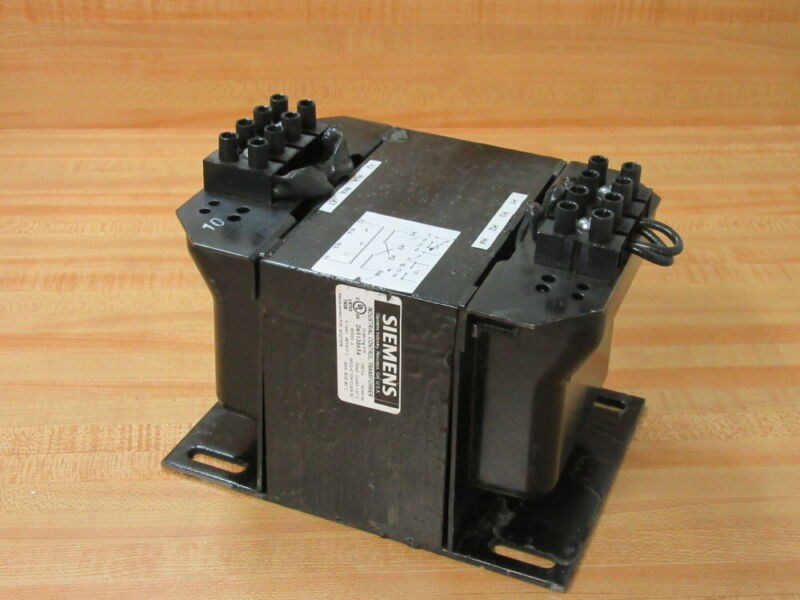 Siemens MT0750B Industrial Control Transformer D69138654