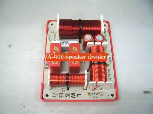 1pc KASUN TDS-2080D Treble Bass Speaker divider 2way crossover 650W 5-8Ω 3000HZ