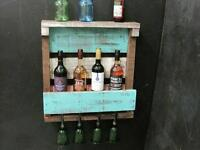RUSTIC WINE RACK- GREAT GIFT FOR CANADA DAY, WEDDINGS, SHOWERS