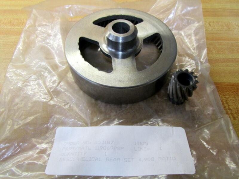 Generic 119869PSP Helical Gear Set