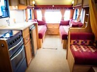 (Ref: 664) 04 Avondale Argente 550/4 4 Berth Superb Family Layout! Free Awning!