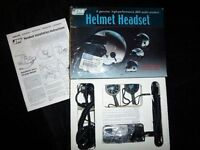 1980-2000 J&M Audio System HS-ECD269 Series Helmet Headset
