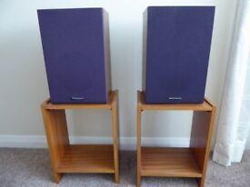 National Panasonic SB208 bookshelf loudspeakers (PAIR)