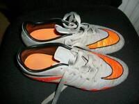 Nike studded football boots.