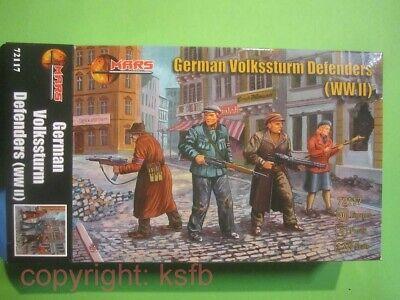 NEU 1:72 Mars # 72117 WKII Deutscher Volkssturm Berlin Kinder Frauen Soldaten