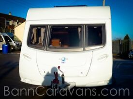 (Ref: 853) 2008 Lunar Lexon 585 SI 4 Berth Fixed Island Bed