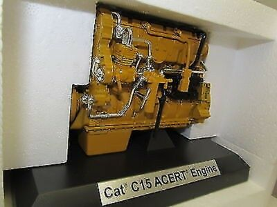 CAT C15 ON-HIGHWAY ENGINE COLLECTIBLE METAL No 55139 1:12 SCALE UB BOX