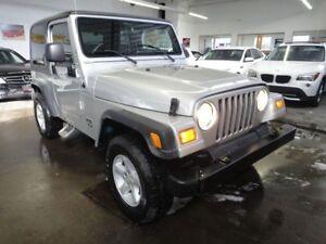 2005 Jeep TJ |SE MODEL|AWD|6 SPEED MANUAL|