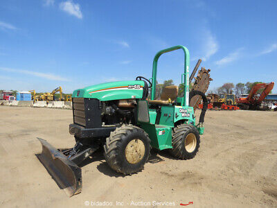 2014 Ditch Witch Rt45 Ride-on Trencher Tractor Backfill Blade Bidadoo