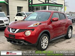2016 Nissan Juke SV AWD | Htd Seats, Rear Camera, Bluetooth