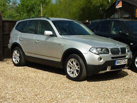 BMW X3 D SE (silver) 2007