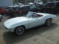 CHEVROLET CORVETTE CONVERTIBLE (white) 1965