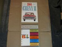1964 Chevrolet Complete Line Up Dealer Brochure.