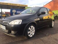 Vauxhall Corsa 1.2 breeze 2005 low milage 50k not astra golf polo