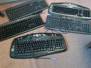 LIKE NEW LOGITECH OR DELL USB KEYBOARDS AND MOUSE