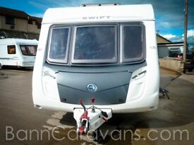 (Ref: 835) 2010 Swift Charisma 550 4 FB Berth Touring Caravan Summer Sizzler Offer!