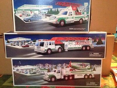 17 Hess Trucks all  in boxes  1991-2011