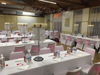 Wedding/Event Decorator - from £450 / Chair cover hire only £1.20 including sash