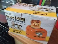 Brand new Wallace & Gromit toaster