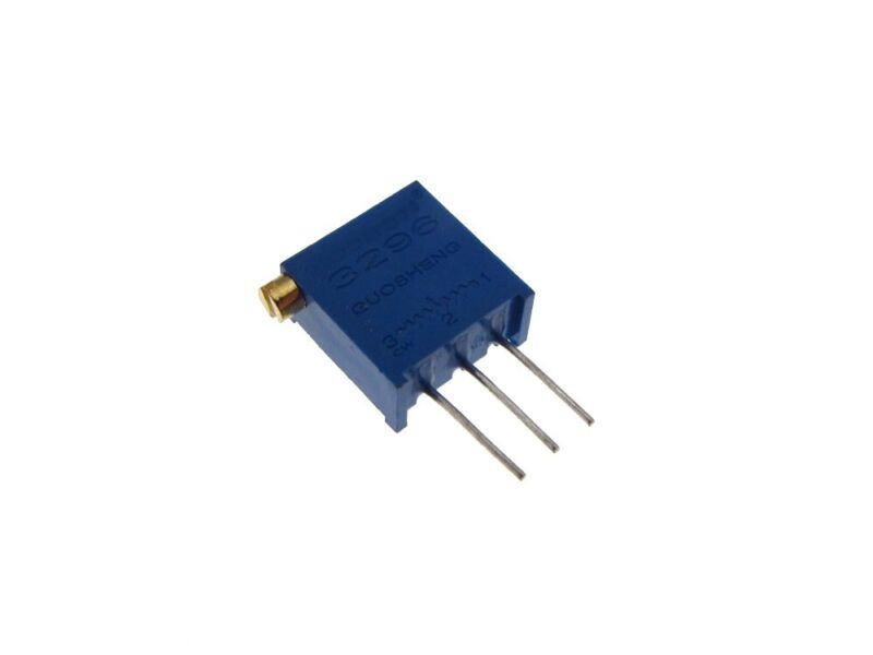 100 Ohm trimmer potentiometer pot resistor 3296x Pack of 10
