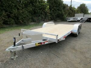 Miska Aluminum Car Hauler - Made in Canada