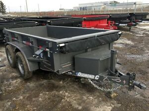 2017 Diamond C 41ED 5x10 Dump Trailer