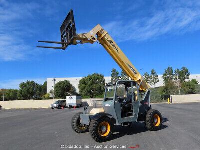 2011 Gehl Rs6-34 34 6000 Lbs Telescopic Reach Forklift Telehandler Bidadoo