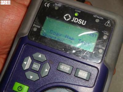 Jdsu Test-um Ivt600 Tri-porter Network Cable Tester Voice Data And Video