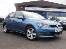 2013 Volkswagen Golf 1.6TDI S Bluemotion Tech MK7 Golf